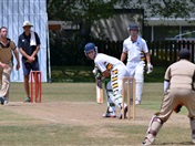 Old Collegians vs students cricket match