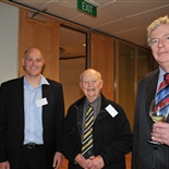Darryl Lock (Hamilton 1984 - 1988), Evan McCulloch (Past Staff 1961 - 2007) and Duncan Laing (Williams 1966 - 1969)